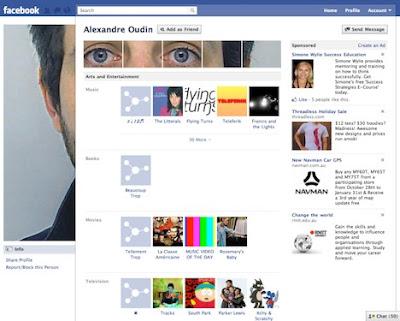 Hack dizajna Facebook profila Alexandre Oudin Profile Maker