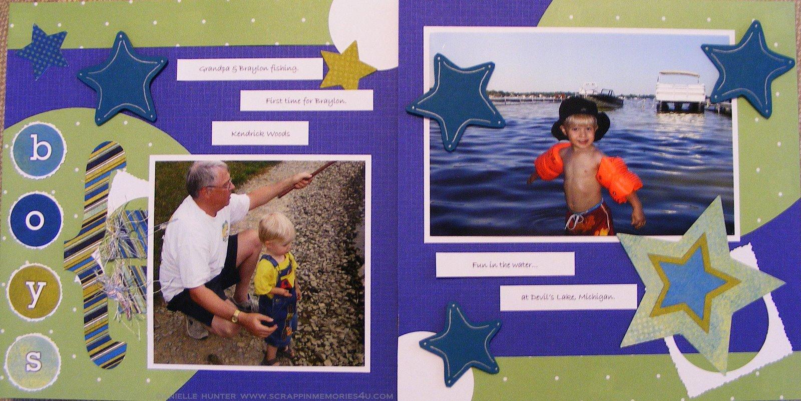 How to scrapbook 8x8 layouts - Scrapbook Layouts That Celebrate Children