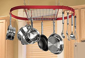 Kitchen Pan Organizer