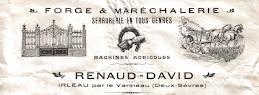 Adonis RENAUD et Pierre DAVID