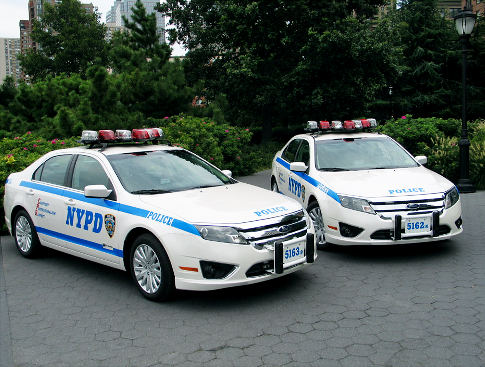 ford fusion police cars