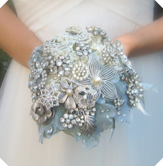 Bridal Bouquet Brooches : Michele s treasures teacups tumbling rose cottage