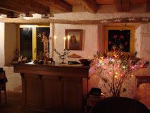 Le salon à Noël