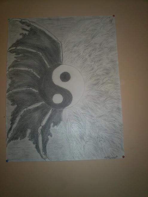 Art book for Meuble ying yang