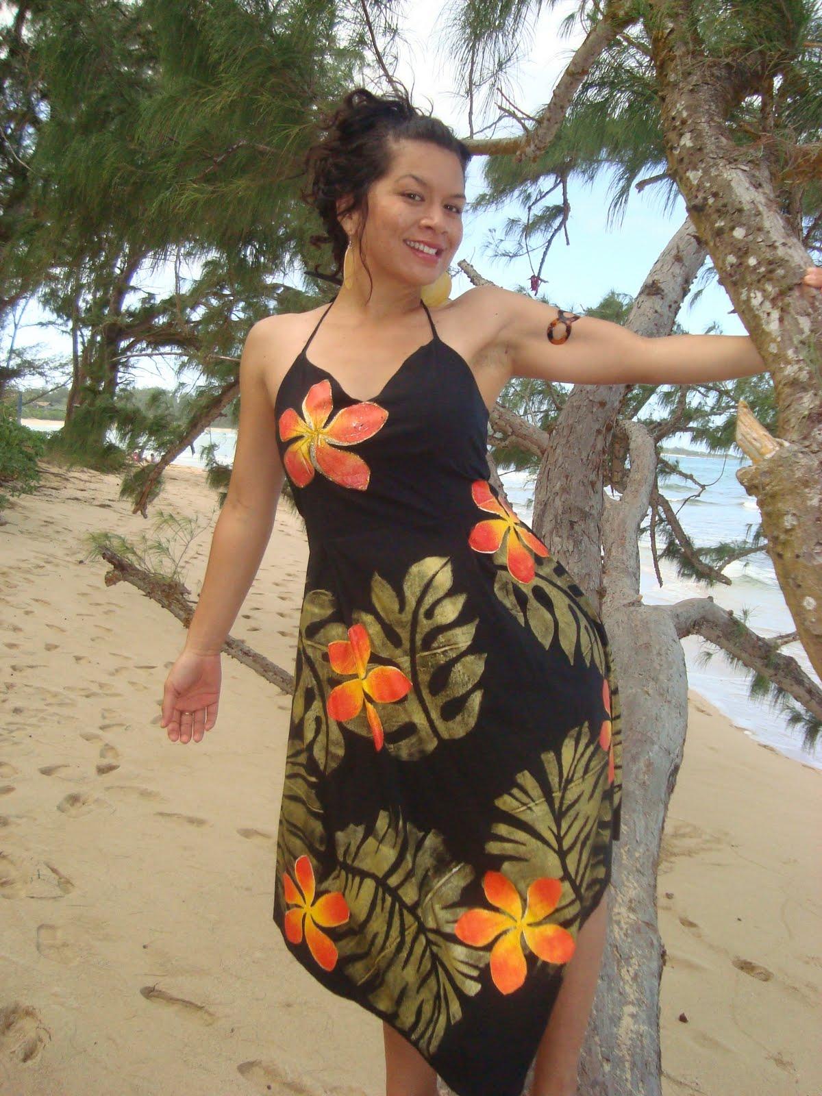 Marial S Island Fashion Little Girl Puletasi