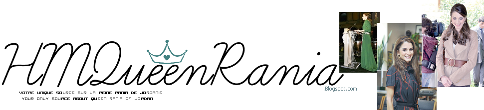 Ƹ̵̡Ӝ̵̨̄Ʒ Votre Source N°1 sur la Reine Rania De Jordanie.
