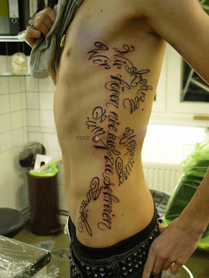clase de tatuajes. tatuajes con letras goticas. David's Blog: foto de