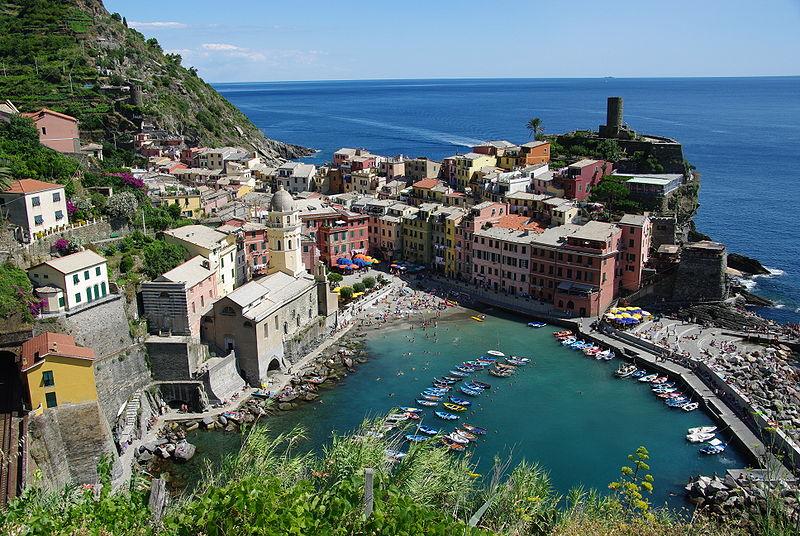 Liguria Vernazza pesto