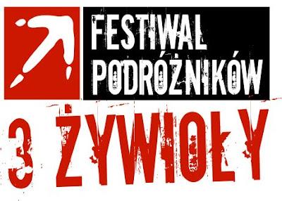 Festiwal Podróżników Trzy Żywioły w Krakowie