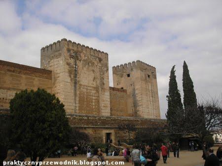 Alhambra w Granadzie (Hiszpania)
