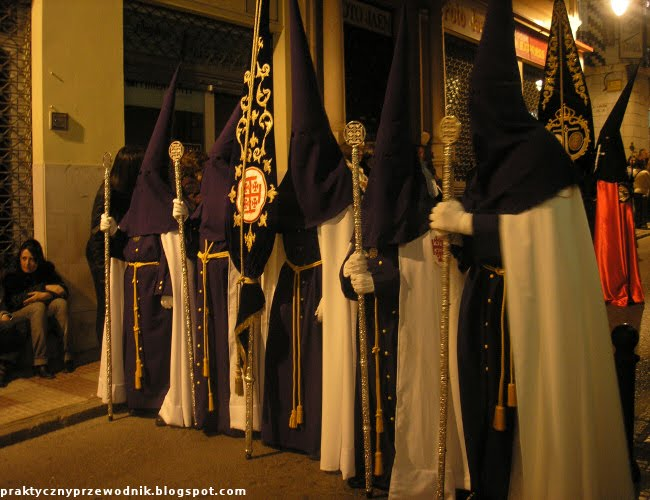 Semana Santa w Algeciras zdjęcia