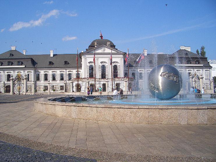 Pałac Prezydencki Słowacja