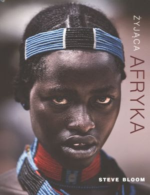 Książka Żyjąca Afryka Okładka