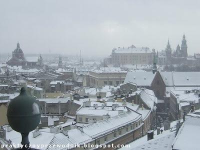 Panorama Krakowa z Wieży Ratuszowej