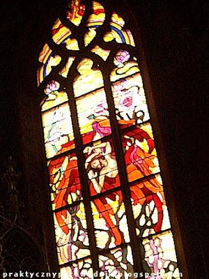 Kościół Franciszkanów Kraków Witraże Wyspiańskiego