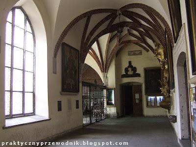 Klasztor Franciszkanów Kraków Krużganki