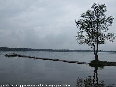 Jezioro Białe Okuninka Włodawa