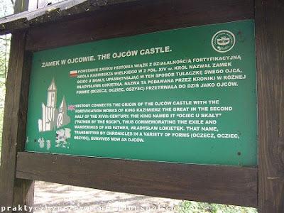 Ojców zamek Ojcowski Park Narodowy