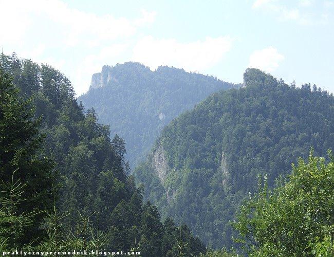 Widok z Palenicy na Pieniny Trzy Korony Sokolica