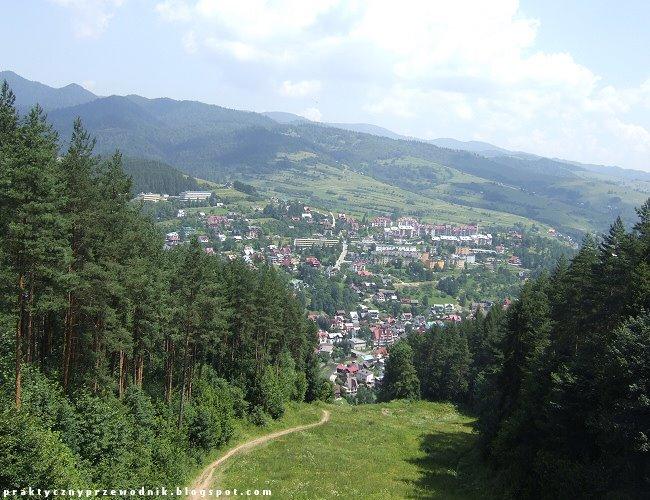 Widok z Palenicy na Szczawnicę
