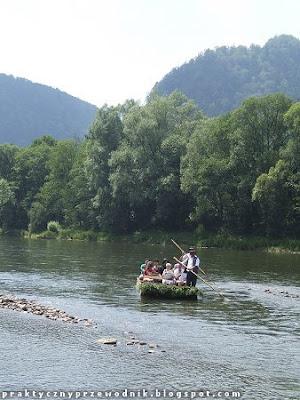 Spływ przełomem Dunajca Szczawnica