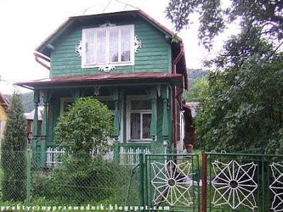 Zabudowa w Krościenku nad Dunajcem