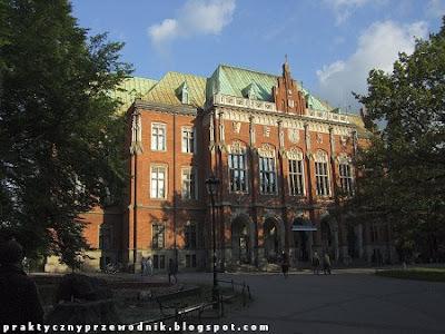 Kraków Collegium Novum Uniwersytet Jagielloński