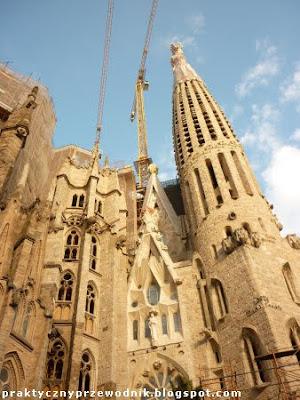 Barcelona Hiszpania Sagrada Familia