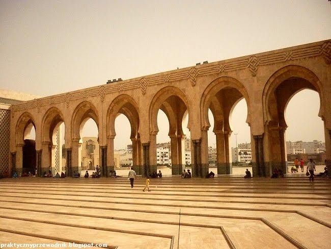 Meczet Hassana II w Maroku