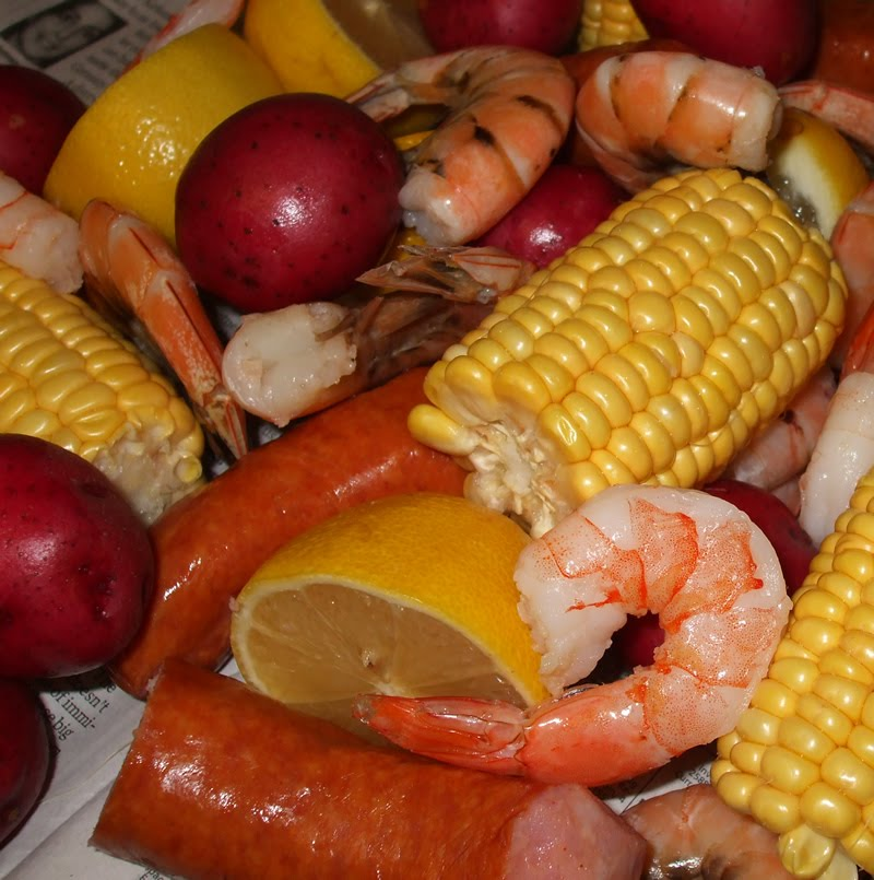 seafood low country boil bay