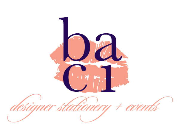 baci designer stationery + events