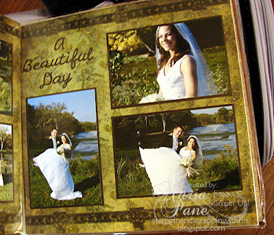 Some more great photos of the happy couple to complete this layout