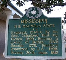 Mississippi Historical Marker