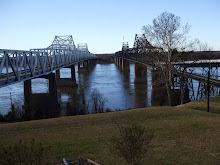 Vicksburg's Two Mississippi River Bridges