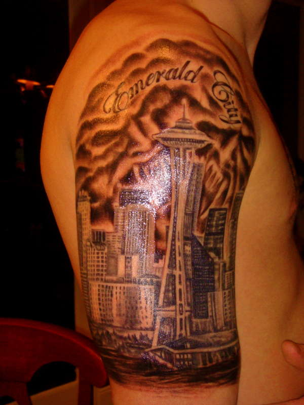 boston skyline. I've researched some pictures of tattoo ideas that I'm