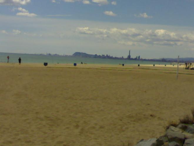 Barcelona des del Masnou
