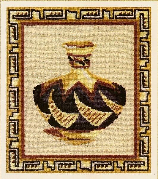 схема вышивки крестом янтарное
