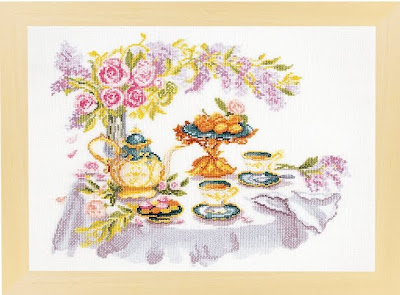 схема вышивки крестом летний натюрморт