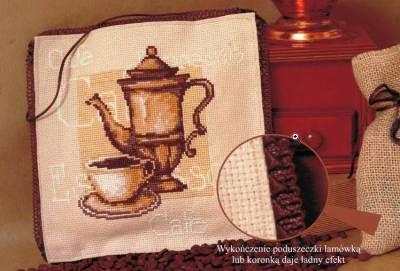 схема вышивки крестом кофепитие