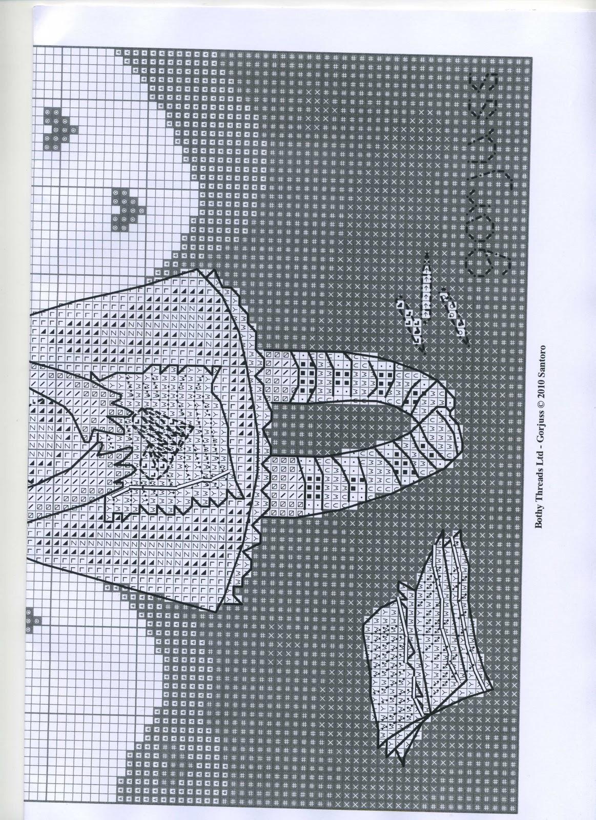Схема вышивки своё 87
