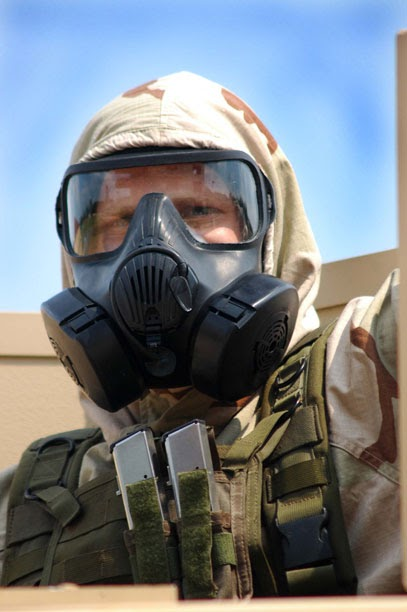 Homemade Defense M50 Joint Service General Purpose Mask