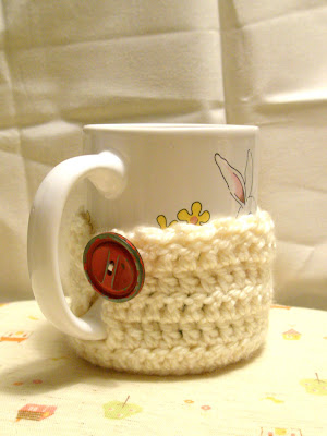 Crochet and Other Stuff: Crochet a Mug Cozy - free pattern