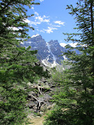Banff National Park. Another view of Ten Peaks (banffarea)