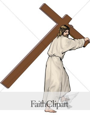 jesus christ carrying cross clip art pictures hot fotos free download pic easter festival 2009
