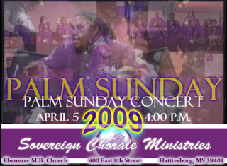 Palm Sunday 2009 concert by Sovereign Chorale Ministries at Ebenezer M.B. Church, Hattiesburg sexy photo