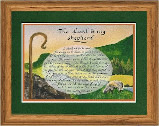 The lord is my shepherd Psalm 23 verse with lamb of god Jesus Christ hd(hq) Christian religious wallpaper
