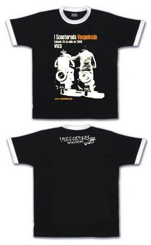 Camiseta Scooterada