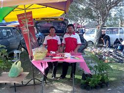 Promosi di pasar pagi