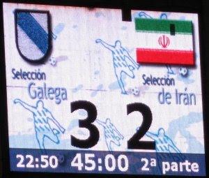 Galicia 3 - Irán 2