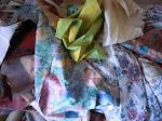 Tecidos estampados e lisos